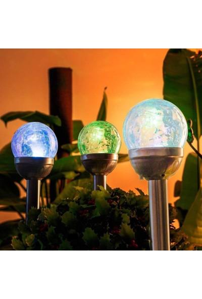 Gıgalumı Güneş Enerjili Dış Mekan Aydınlatma 3 Adet