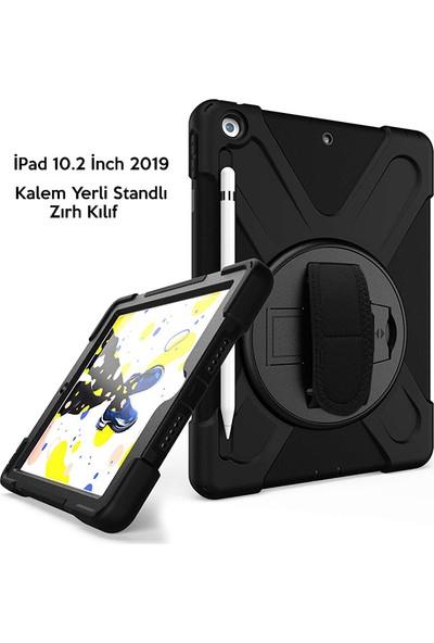 Ssmobil Apple iPad 7.nesil 10.2'' Zırhlı ve Standlı Tablet Kılıfı