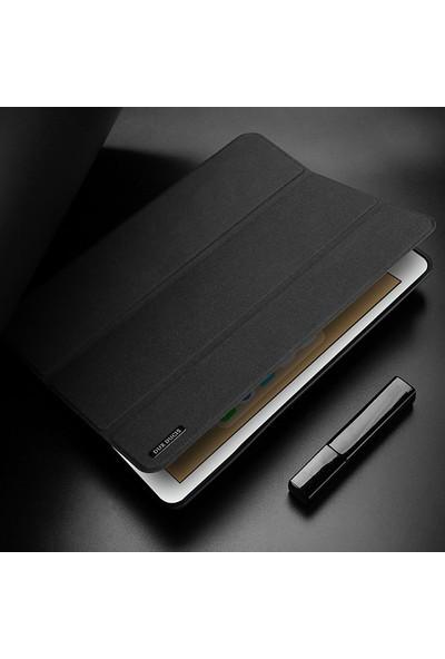 Ssmobil Apple iPad Pro 12.9 2017 Kalem Yerli Soft Tpu Mıknatıslı Tablet Kılıfı