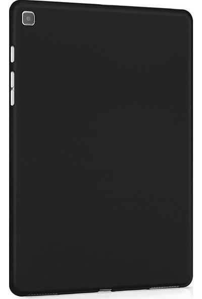 "Moserini Samsung Galaxy Tab S6 Lite SM-P610 P617 10.4"" Rubber Arka Kapak Siyah Silikon Tablet Kılıfı Set"