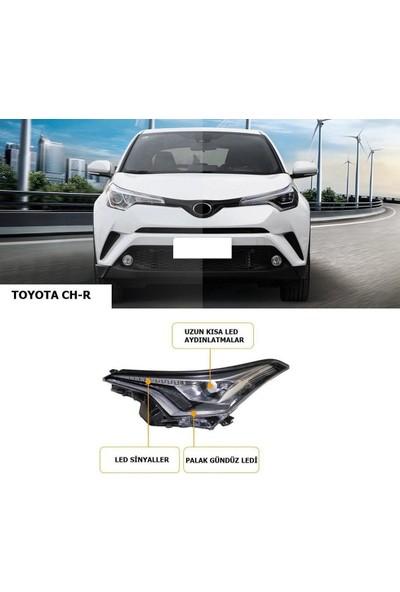 Auto Gp Toyota Chr Ön Far Lambası Seti Ledli 2016 / 2019