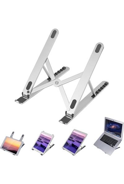 Mcstorey Laptop Stand MacBook Notebook Katlanabilir Metal Stand