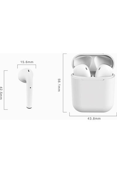 Anself Inpods 12 Bt5.0 Tws Kablosuz Kulaklık Kulak İçi Stereo (Yurt Dışından)