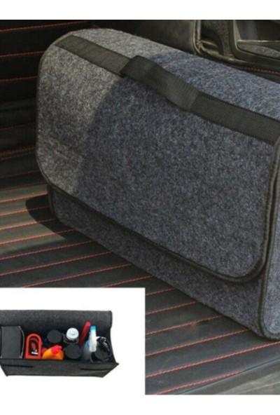 Nerotex Oto Bagaj Düzenleyici Araç İçi Organizer Keçe Bagaj Eşya Çantası