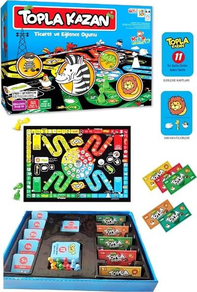 Ayas Eğitici Oyuncak Mortoys Topla Kazan Ticaret Eğlence Oyunu - Renkli Bardaklar Junior