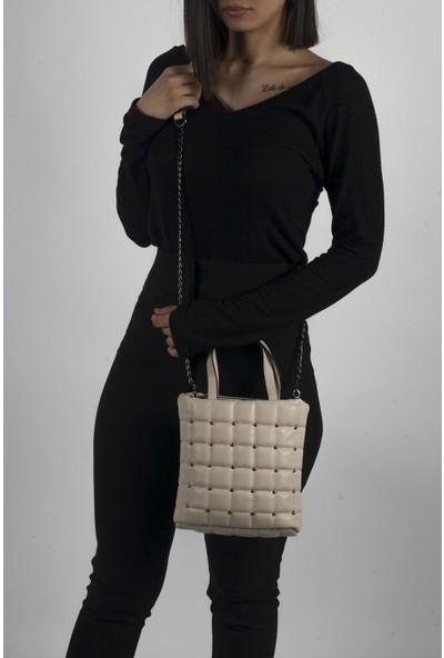 Çanta Stilim Taş Işlemeli El ve Çapraz Bayan Çanta