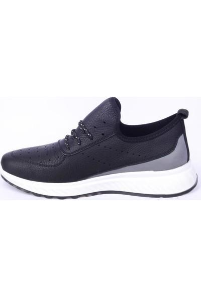 James Franco 6037 Siyah Günlük Erkek Deri Ayakkabı