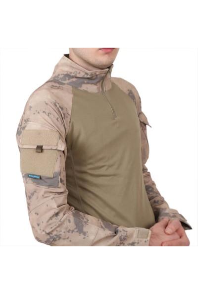 Sword Jandarma Kamuflaj Taktik Combat Operasyon Tşörtü