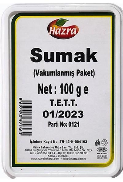 Hazra Sumak 100 gr Vakumlanmış Paket
