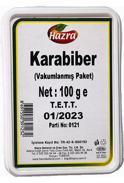 Hazra Karabiber 100 gr Vakumlanmış Paket