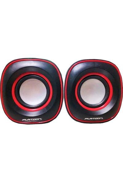 Platoon PL-4014 USB 2.0 Pc Speaker 1+1