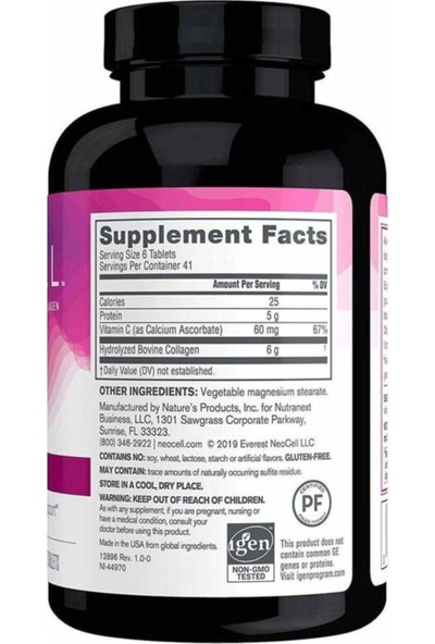 Super Collagen + C 250 Tablets