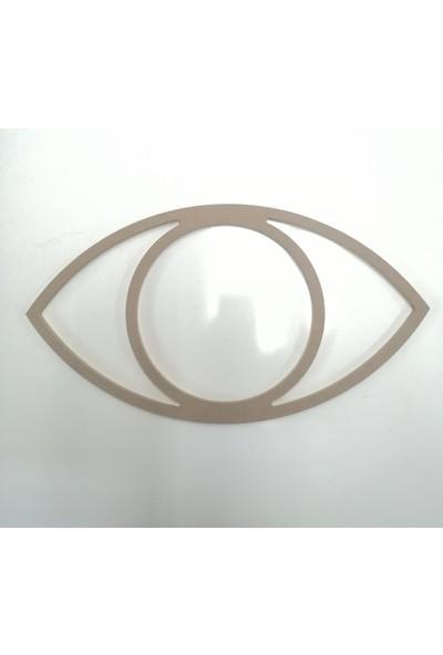 Otto Ahşap 8 mm Göz Kasnak (Çap 35 Cm)