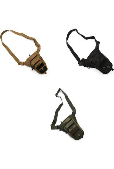 Sword Tactical Özel Bölmeli Bel/bacak Çantası