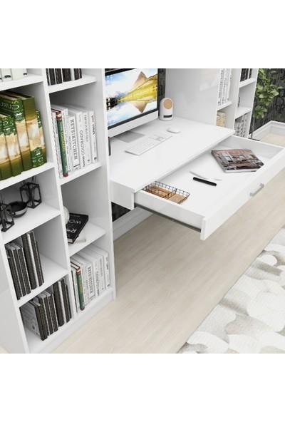 Rosette Palmiye Ev Ofis Çalışma Masalı Kitaplık