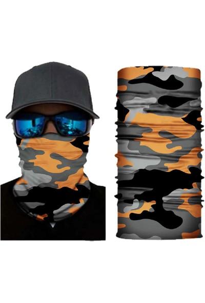 Knmaster Arrow Buff Boyun Bandana Boyunluk Maske- Motorcu Maskesi- Baf- Yüz Buff