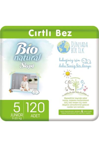 Sleepy Bio Natural Bebek Bezi 5 Numara Junior 120 Li