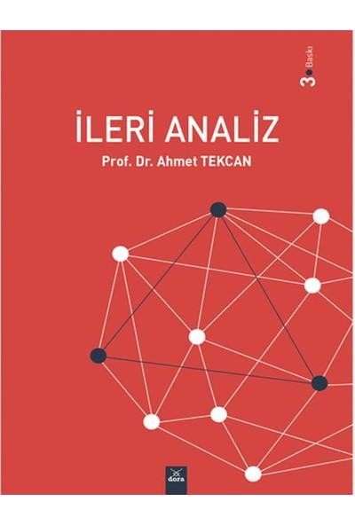 Ileri Analiz - Ahmet Tekcan