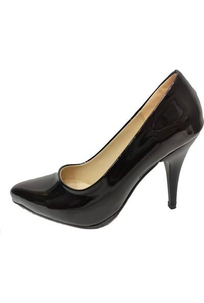 Önder 217201 -10CM Rugan Ince Topuk Stiletto Kadın Ayakkabı
