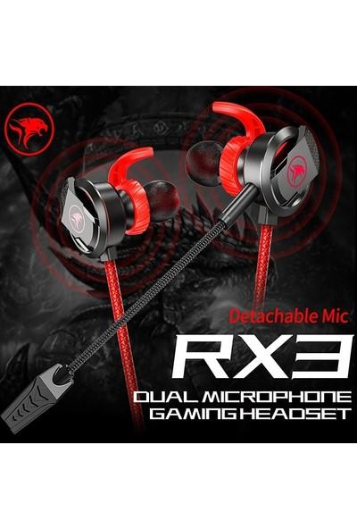 Ally Xmowi Rx3 3,5mm Çift Mikrofonlu Oyuncu Kulaklık Gaming Kulaklığı AL-33561