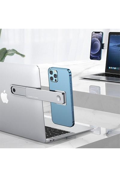 Ally Sürgülü Manyetik Laptop Telefon Tutucu Monitör Standı AL-33692