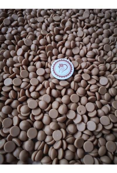 40 Yıl Çikolata Kahve Callebaut Beyaz Çikolata 200 gr Limonlu Çikolata 200 gr Karamelli Çikolata 200 gr