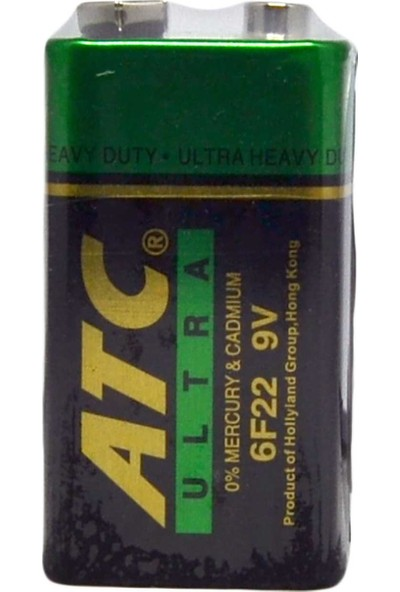 Atc 9 Volt Alkalin Pil