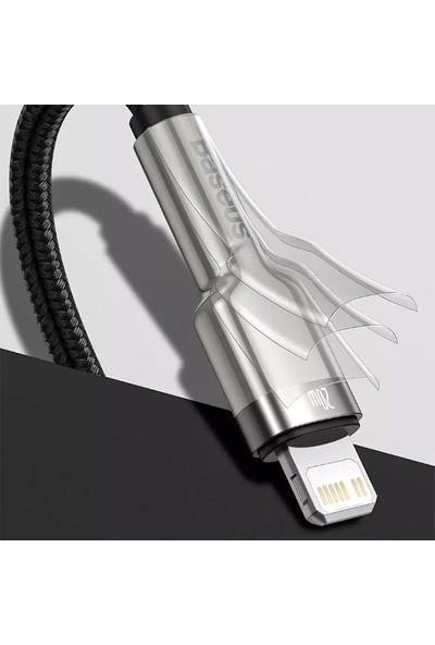 Baseus Cafule Series Metal Type-C To Lightning PD 20W 2 mt Şarj Veri Kablosu CATLJK-B01