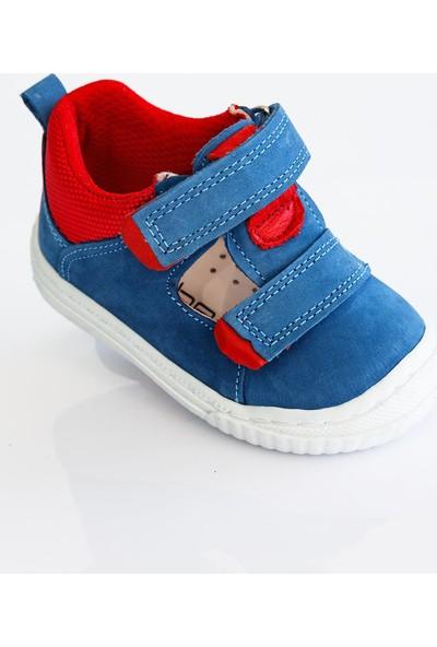 Sanbe Erkek Bebek Deri Ilkadım Ayakkabı