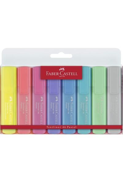 Faber-Castell 1546 Pastel Renk Fosforlu Kalem 8'li