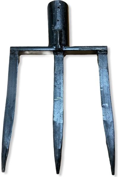 Bel 3 Dişli Toprak Beli - Paslanmaz Çelik