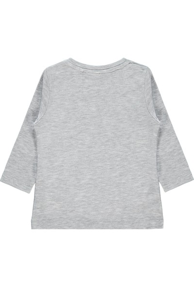 Harry Potter Kız Bebek Sweatshirt 6-18 Ay Gri