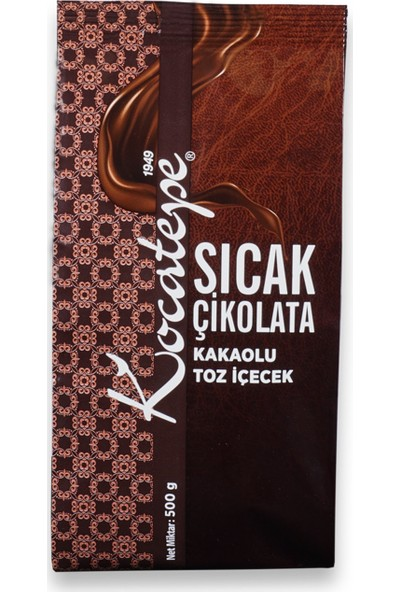 Kocatepe Sıcak Çikolata 500gr Folyo
