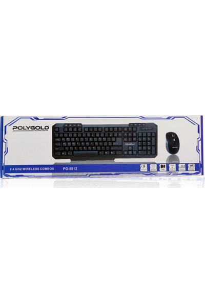 Polygold Kablosuz Mouse-Klavye Seti