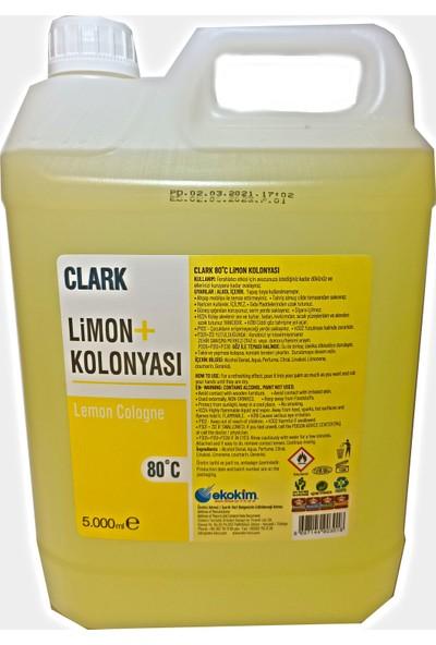 Clark 80 Derece Limon Kolonyası 5 Lt
