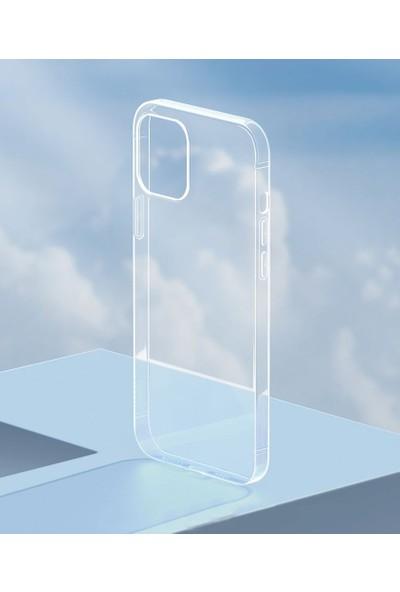 Baseus Simple Serisi Apple Apple iPhone 12 - Apple iPhone 12 Pro 6.1 Silikon Kılıf-Şeffaf