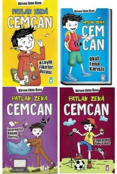 Timaş Yayınları Cemcan Set ( Acayip Fikirler - Okul Fena - Topçu Mu Popçu -Internette Başım)