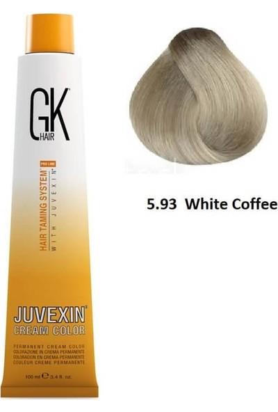 Gk Hair Juvexin Cream Color Saç Boyası 100 ml 5.93 Beyaz Kahve
