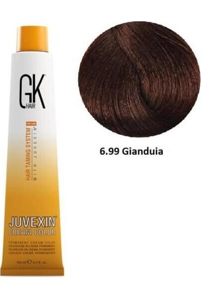 Gk Hair Juvexin Cream Color Saç Boyası 100 ml 6.99 Gianduia