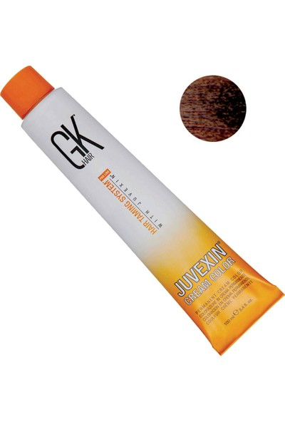 Gk Hair Juvexin Cream Color Saç Boyası 100ML 5.3 Açık Altın Kahve