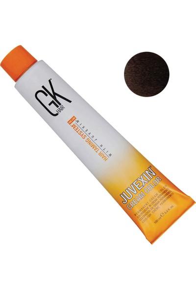 Gk Hair Juvexin Cream Color Saç Boyası 6.11 Yoğun Koyu Küllü Sarı