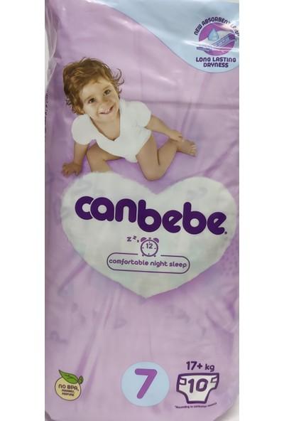 Canbebe Çocuk Bezi No:7 17+ kg Paket Içi 10'lu
