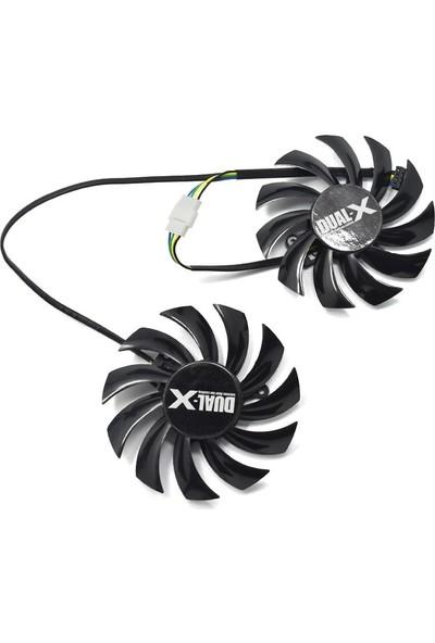 FirstD 75 mm mm Dual-X FD7010H12S 12V 0.35AMP Fan