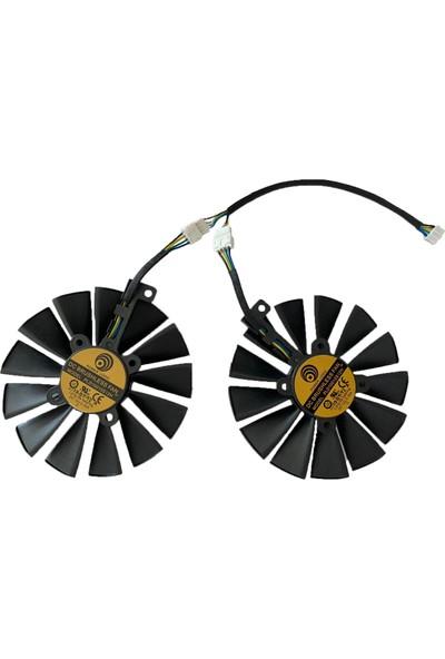 Power Logic Asus Dual Radeon RX 580 4 GB Ekran Kartı Fanı