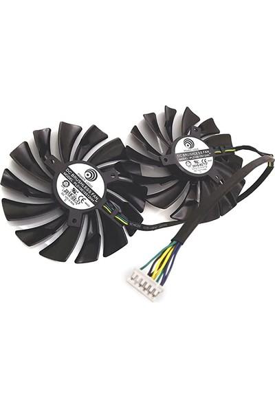 Power Logic MSI GTX980 GTX970 GTX960 Grafik Kartı Fanı