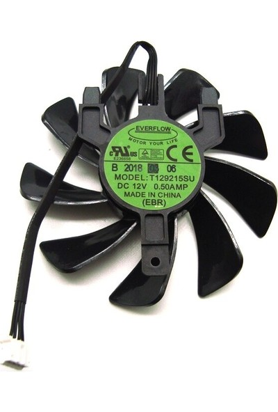 Everflow Safir RX570 Sapphire Radeon RX570 Itx Itx T129215SU Fan