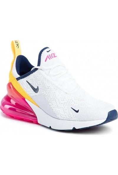 Nike Air Max 270 Beyaz Kadin Spor Ayakkabi