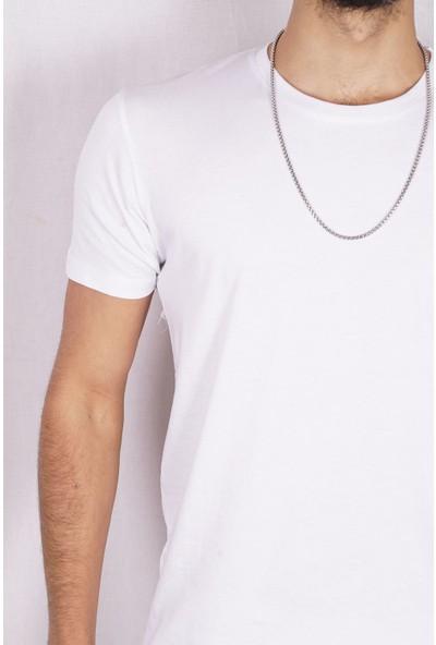 Marrakech Erkek Slim Fit Basic Tshirt