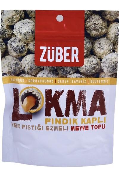 Züber Lokma Fındık Kaplı Meyve Topu