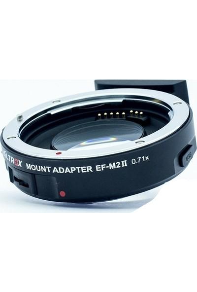 Viltrox Ef-M2 Iı Mark Iı Speedbooster 0.71X Canon Ef To M43 Adaptör